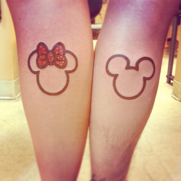 Small Matching Tattoo Ideas For Couples