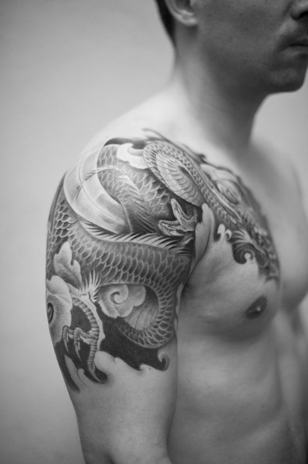 Simple Tattoo Designs For Men Chest