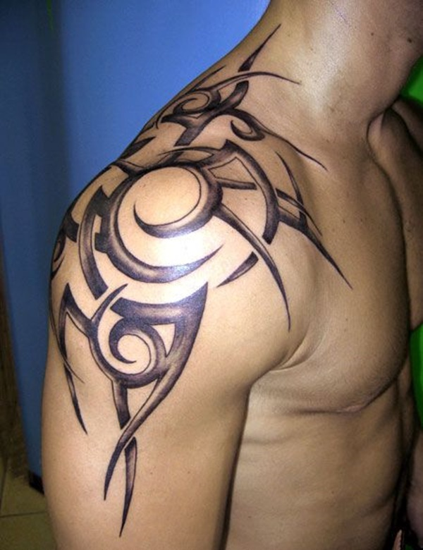 Shoulder Tattoos For Men Simple