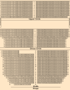 also victoria palace theatre seating plan rh thisistheatre