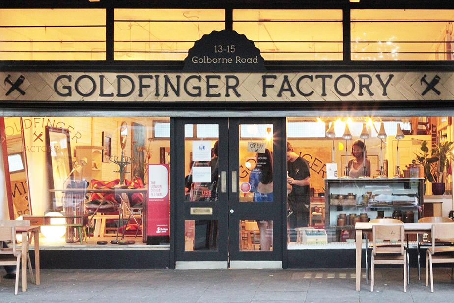 goldfinger factory