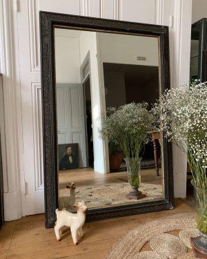 Ancien miroir moulures