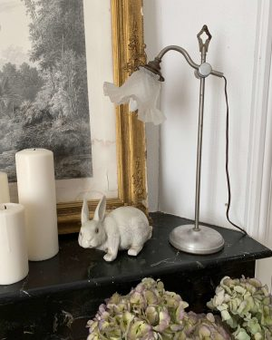ancienne lampe col de cygne art déco