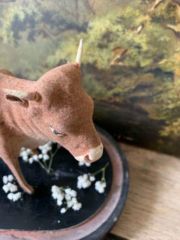 ancien santon vache devineau