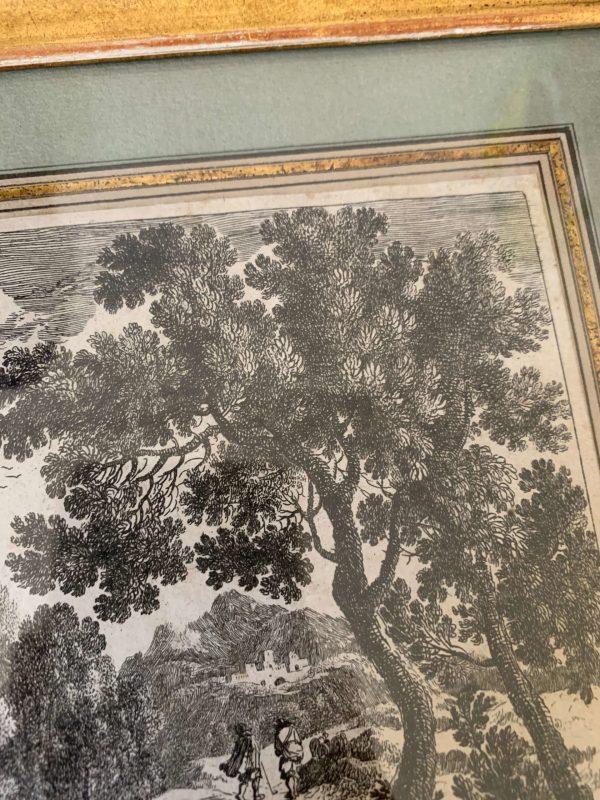 ancienne gravure perelle du 17eme siècle corse