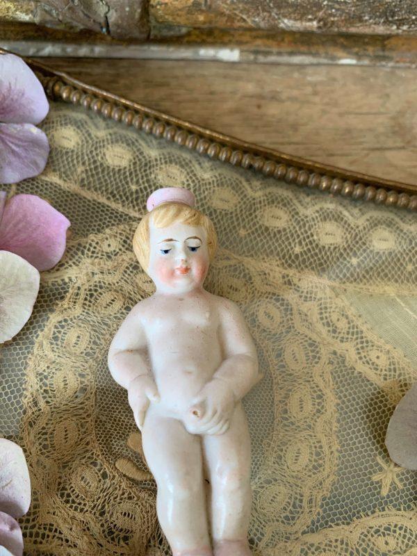 ancien pisseux en biscuit 19ème sujet erotique