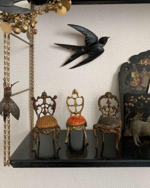 ancienne chaise napoleon III porte montre de gousset 19ème