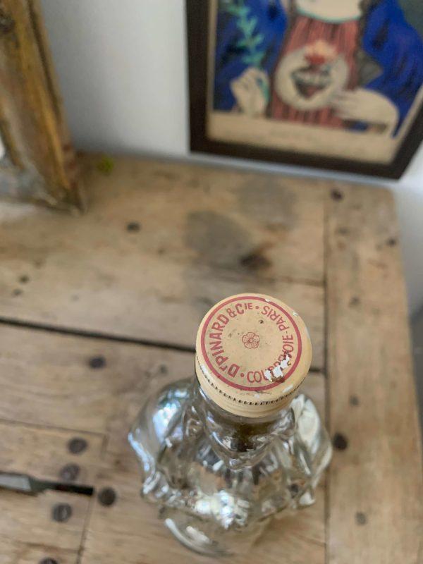 ancienne bouteille notre dame de lourdes mercure eau bénite