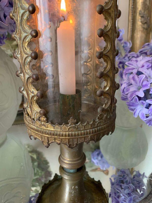 ancienne lanterne de procession xixeme