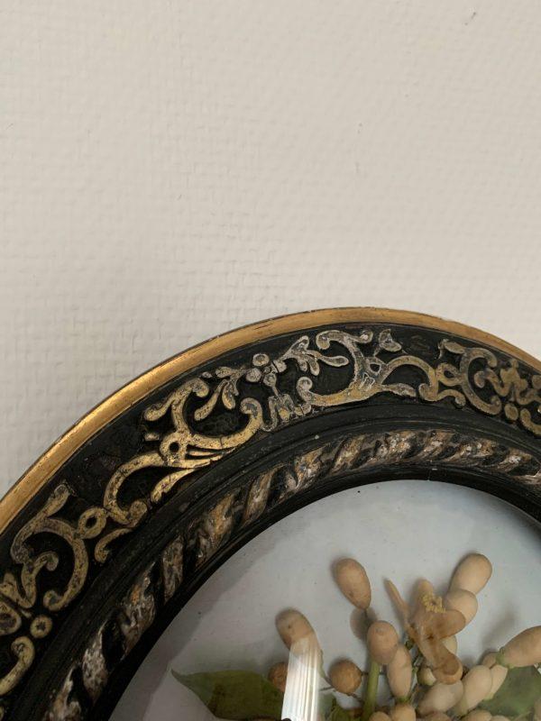 ancien cadre couronne de mariée xixeme napoléon IIII