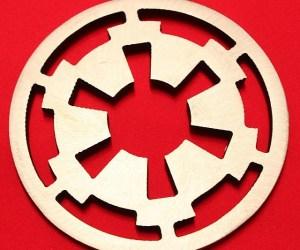 Imperial Cog Steel Coasters