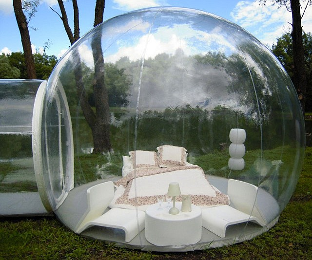 This Genius SeeThrough Tent Is Perfect For Star Gazing