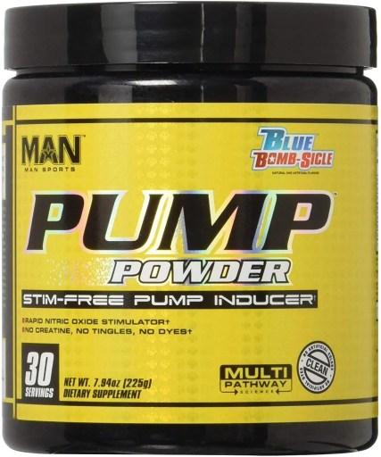 MAN Pump Sports Powder