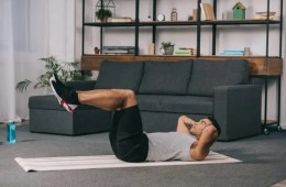 Knee Crunches