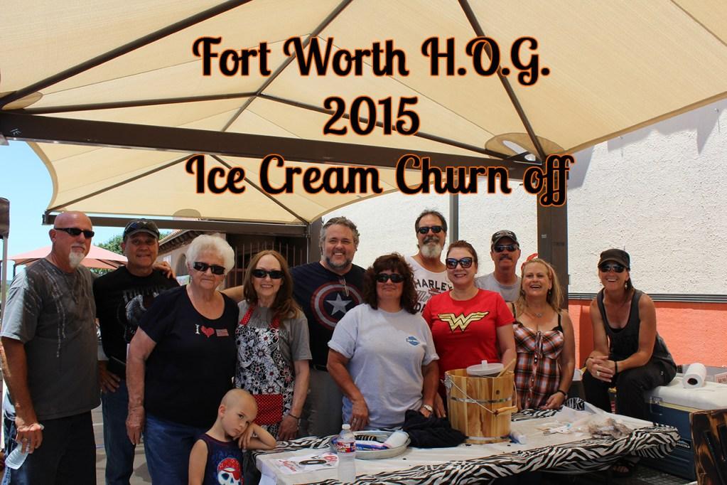 Ice Cream Churn Off 2015