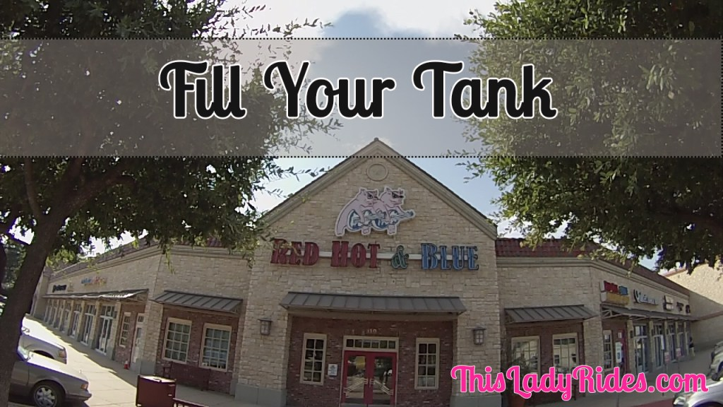 Fill Your Tank at Red Hot & Blue