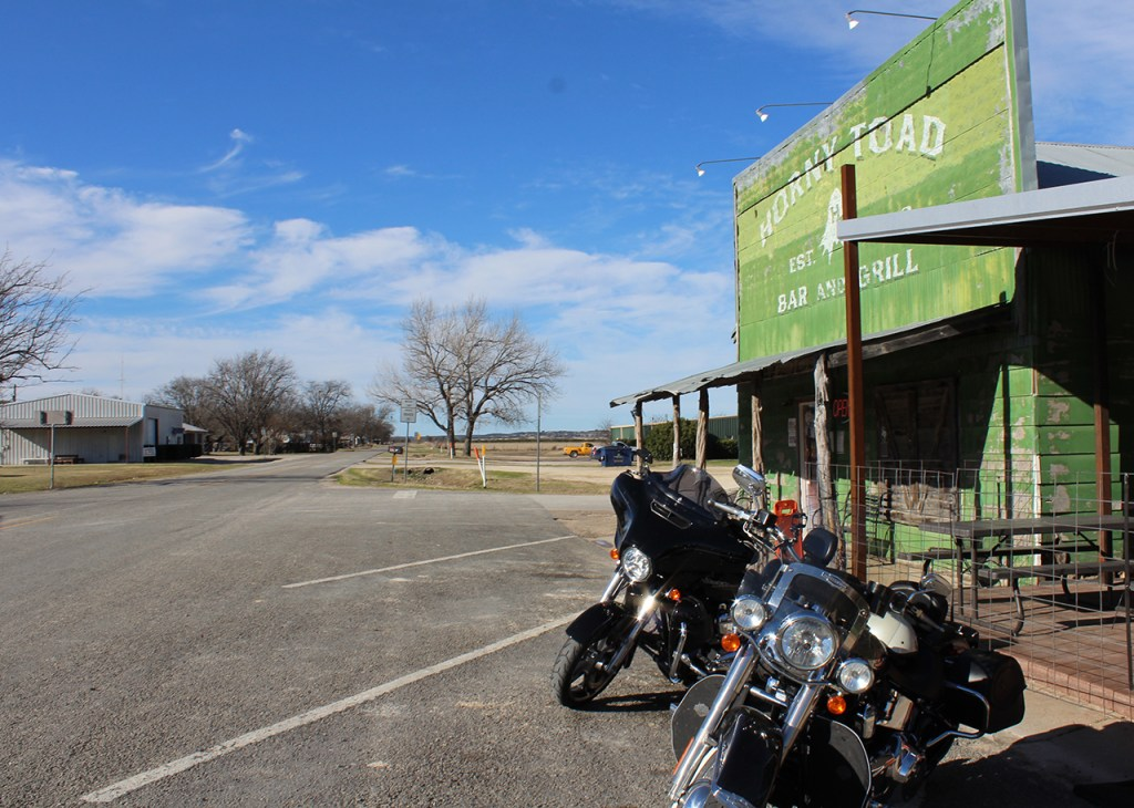 First Ride Of 2017: Horny Toad Bar & Grill