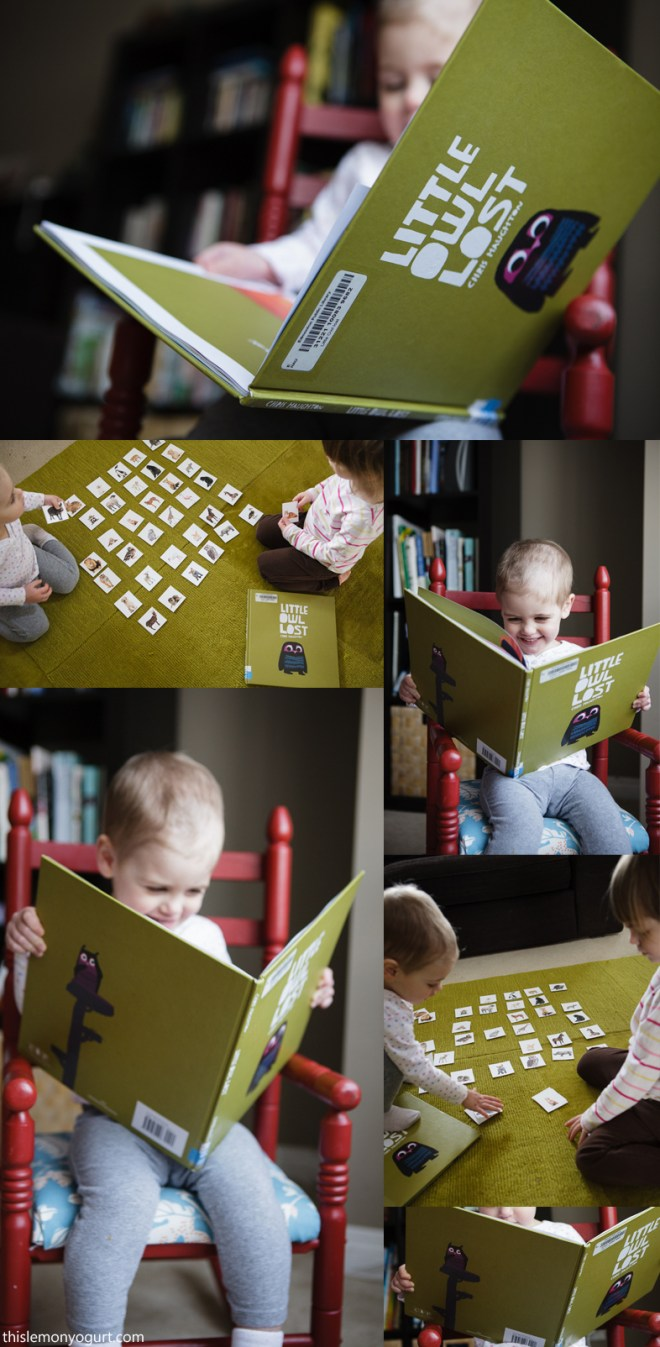 Baby Book Club- Little Owl Lost {this lemon yogurt}