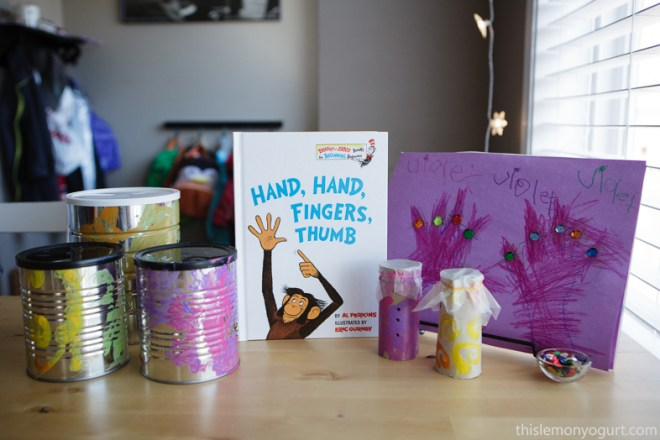 Baby Book Club- Hand Hand Fingers Thumb {this lemon yogurt}