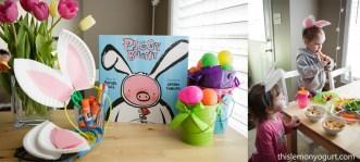Baby Book Club- Piggy Bunny {this lemon yogurt}