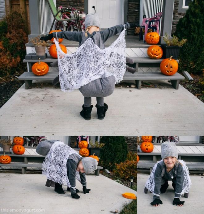 Charlotte's Web halloween {this lemon yogurt}