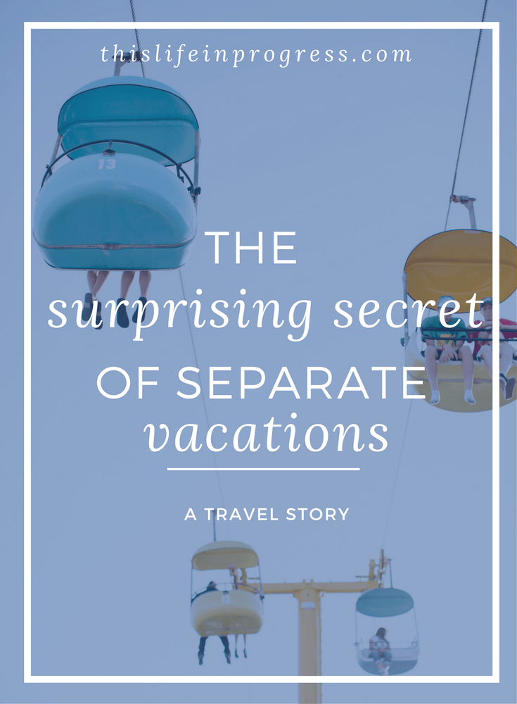 Family vacations | Family Trips | Travel | Separate Vacations | Blended Family | Stepfamily | Letting Go of Expectations | Travel Stress Tip