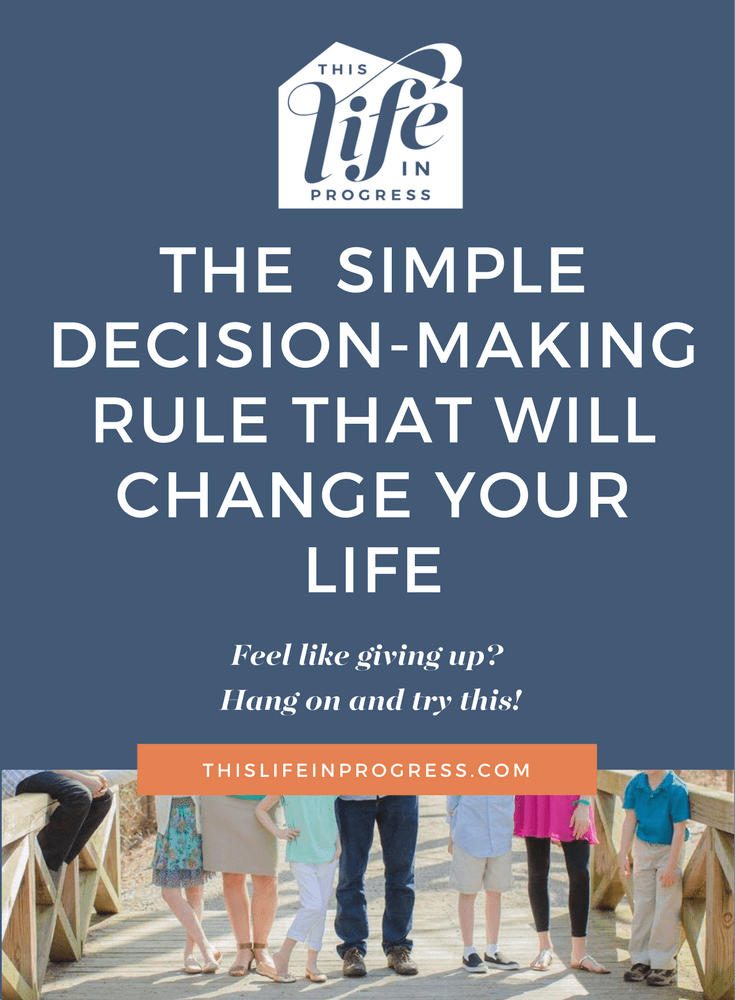 Decision making | Self help | How To Make Decisions | Making Mistakes | HALT | Single Parent Support | Parenting Tips | Blended Family Help | Marriage Advice