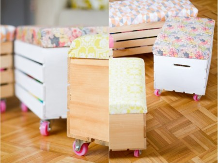 Caja de juguetes DIY