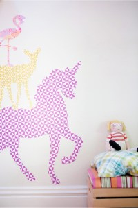 DIY giant animal wall stickers (with free printables ...