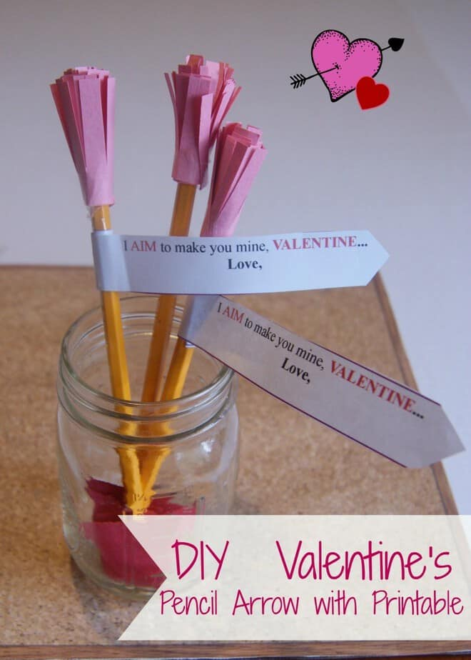Cupids Arrow Non Candy Valentine This Mama Loves