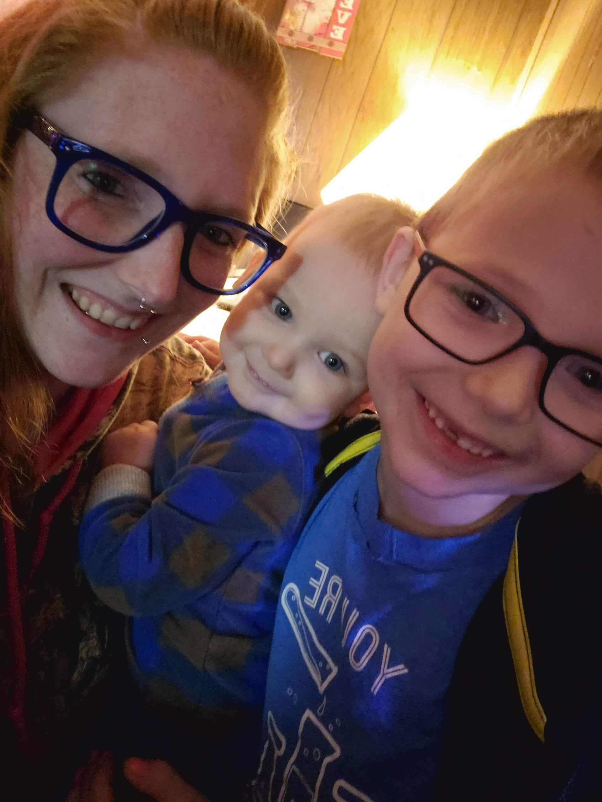 Heart Stories - Taylor Hughes PPCM Story - Taylor with her children