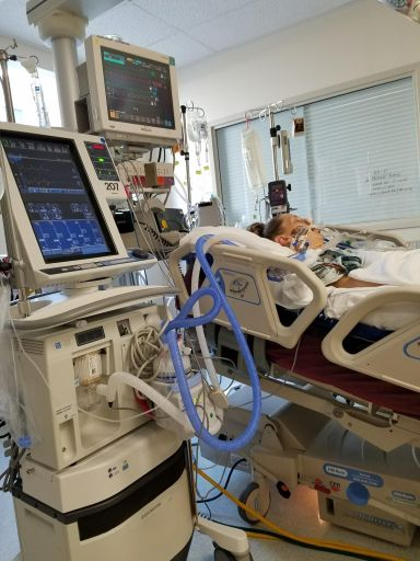 Heart Stories - Jessica Grib's PPCM Story - Jessica on life support