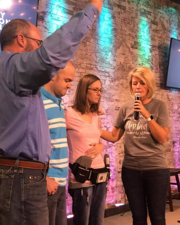 Heart Stories - Kyla Davis - Kyla's first time back at church when home with my pastors