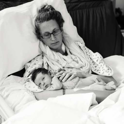 Heart Stories - Jessica Grib's PPCM Story - Jessica and her daughter