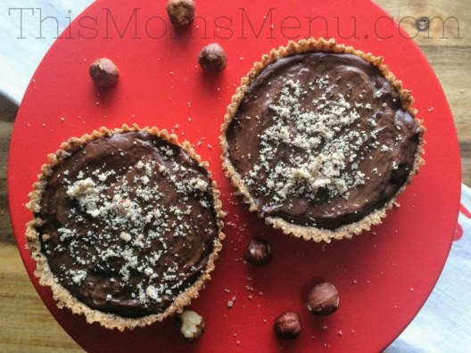 Chocolate and hazelnuts were made to go together and this Chocolate Hazelnut Tart is the perfect pairing! Share one with your sweetheart this Valentine's Day for a delicious and decadent dessert! This tart is free of added sugar and low in carbs making it a great option for those following a low carb or ketogenic diet.