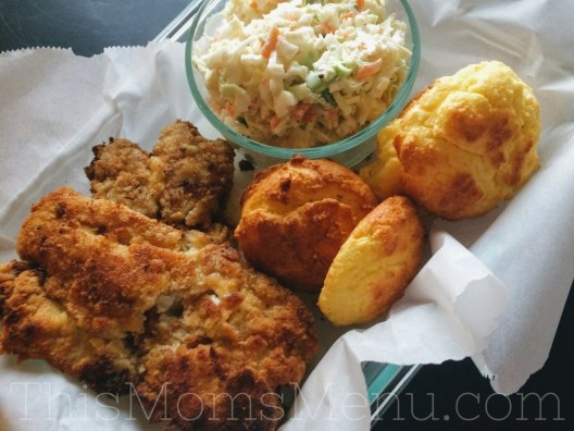 This Keto Fried Fish is seriously delicious! Eat it as is, or serve it on your favorite low carb bun with some tartar sauce for a delicious fish sandwich! You won't believe that it's low carb, gluten free and paleo friendly!