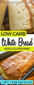 This Low Carb Breadis the perfect substitute for traditional bread in your diet. It's so easy to make and is very versatile. Enjoy it topped with your favorite sandwich fixings, as french toast, or just toasted with butter!
