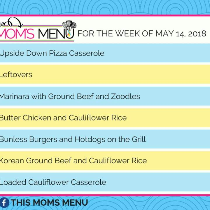 Family Friendly, low carb meal plan for busy nights