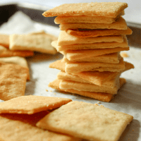 Keto Butter Crackers