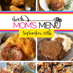 This Mom's Menu for the Week of September 10th 2018