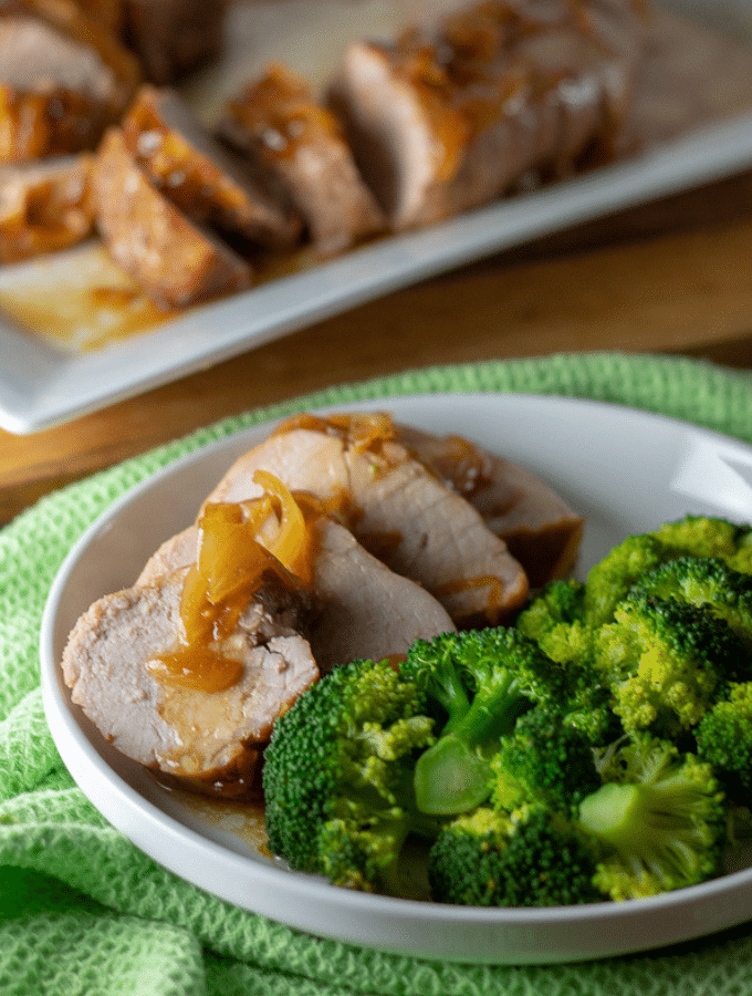 Maple Butter Pork Tenderloin