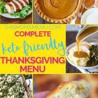 Complete Keto Thanksgiving Menu