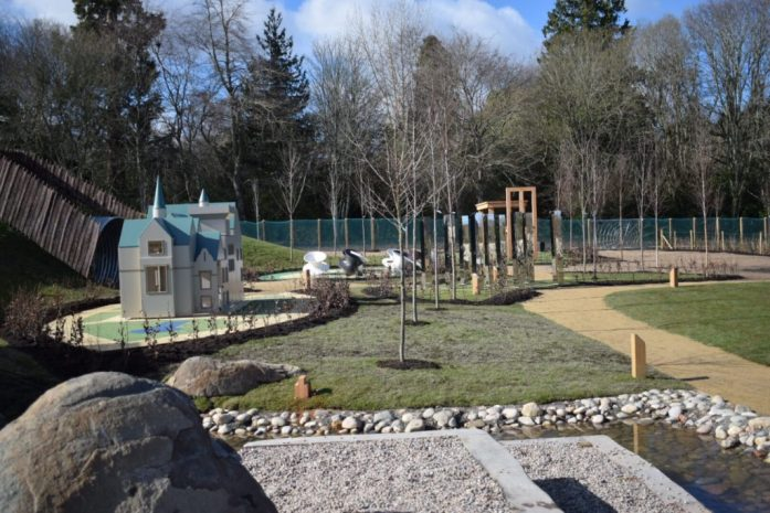 The Playful Garden at Brodie Castle