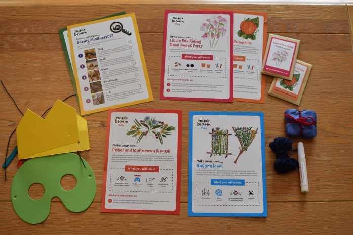 Mud and Bloom Gardening and Nature Craft Box