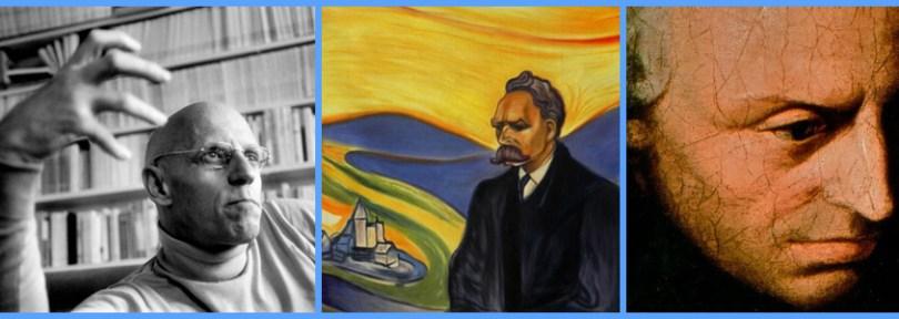 Michel Foucault, Friedrich Nietzsche, and Immanuel Kant
