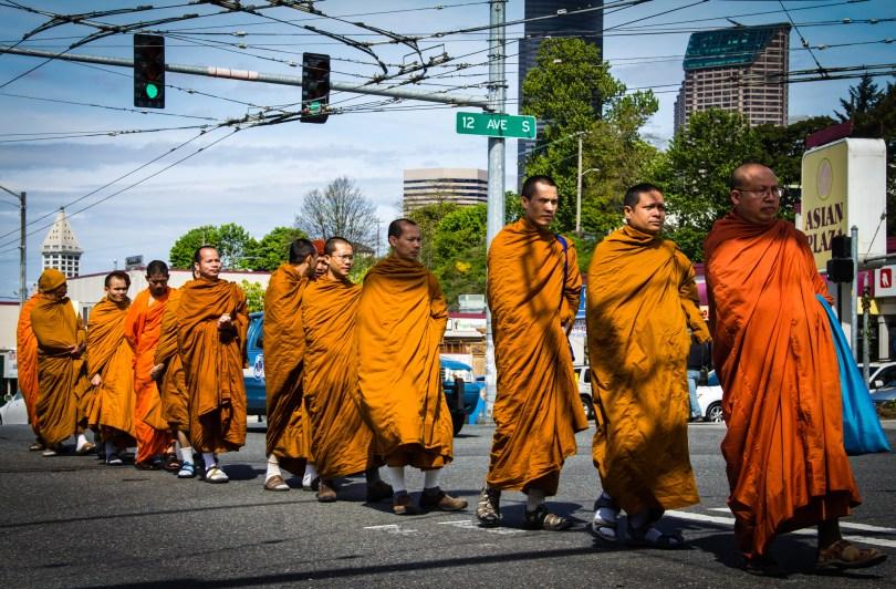 Little Saigon celebrates Vesak Day, the Buddha's Birthday, or Full Moon Day.