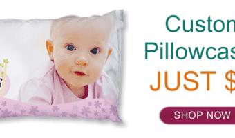 Ink Garden: Custom Pillowcases ONLY $5!!
