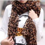 Leopard Pattern Scarf Wrap for Women only $2.98 Shipped!!