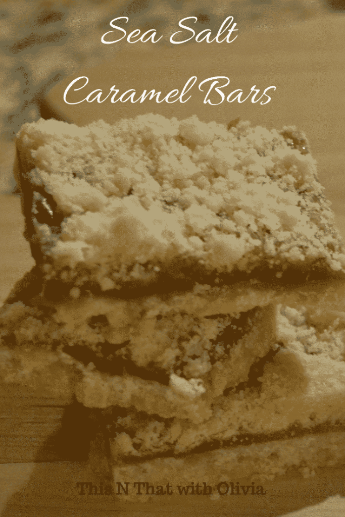 Delicious and Easy Sea Salt Caramel Bars with Buttery Shortbread, Creamy Caramel and Rich Sea Salt!