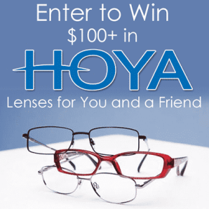 Hoya Lenses Mission Giveaway Prize Image